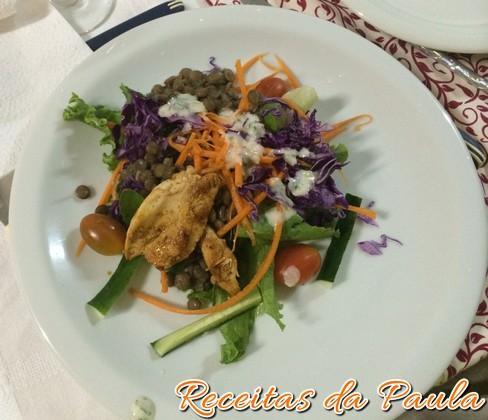 salada morna