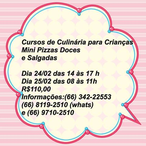 Curso Mini Pizza